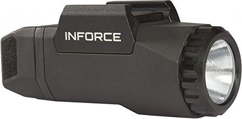 InForce Auto Pistol Weapon Mounted White LED Light 400 Lumens Generation 3 Black A-05-1