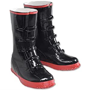5 Buckle Rubber Over-shoe Boots size 10