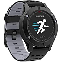 F5 Smart Watch Heart Rate Monitor Smart Watch Waterproof Smartwatch For Android iOS - Grey
