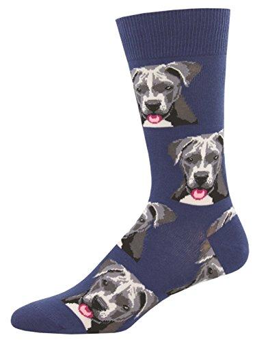 Blue Pit - Socksmith Mens' Novelty Crew Socks