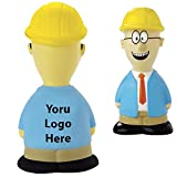 Safety Talking Stress Reliever - 50 Quantity - $4.35 Each - PROMOTIONAL PRODUCT / BULK / Branded with YOUR LOGO / CUSTOMIZED