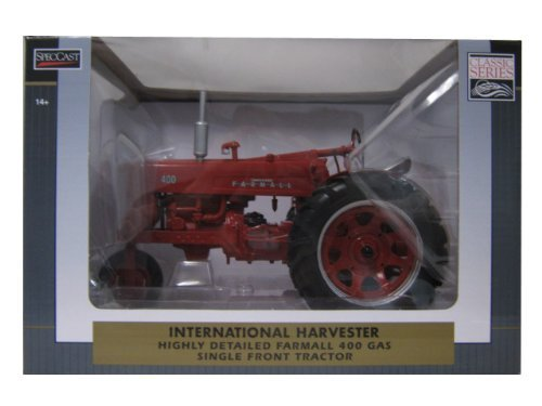 International Harvester Farmall 400 Gas Single Front Tractor 1/16 by Speccast ZJD 1710