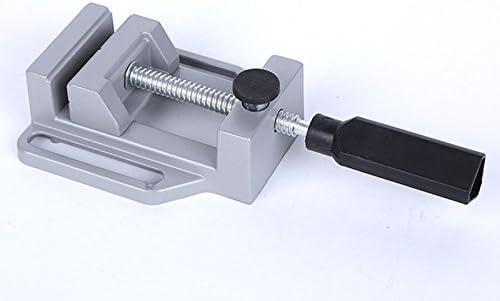 Juego de 2 abrazaderas de aluminio para mesa de trabajo de 68 mm NUZAMAS