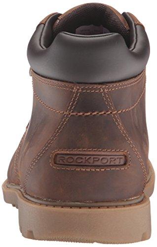 Rockport Menns Robuste Dollar Vanntett Ankel Boot Boston Tan