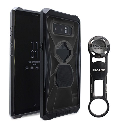 Rokform [Galaxy Note 8] PRO-LITE Aluminum Bike Mount/Holder & Protective Phone Case, Twist Lock & Magnetic Security by Rokform