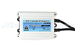 XtremeVision AC 55W HID Xenon Conversion Kit with Premium Slim Ballast - Bi-Xenon 9007 4300K - Bright Daylight - 2 Year Warranty