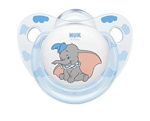 Amazon.com: NUK Disney Baby Dumbo chupete silicona, forma ...