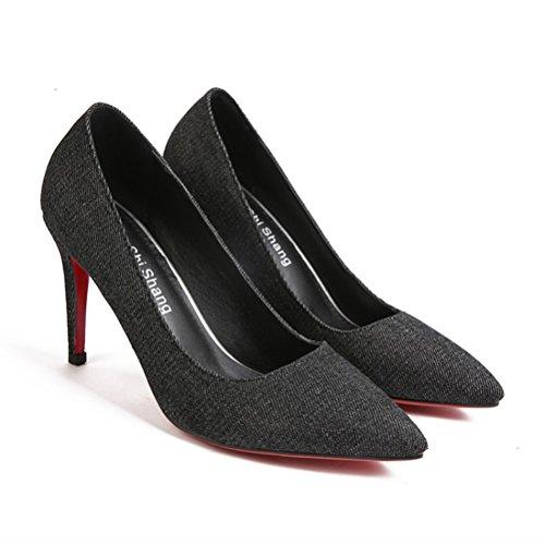 45 Sandalias Talla Mujer Cu a con Agodor Negro Color d8qBFS0WWa