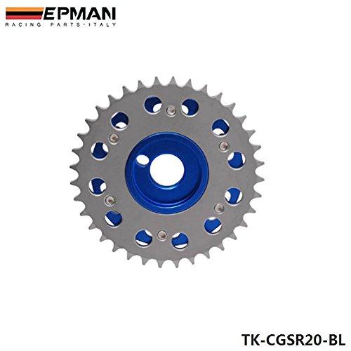 EPMAN For Nissian SR20DET Engine Performance Upgrade Dual Cam Shaft Gear Sprocket Blue, Pack Of 2