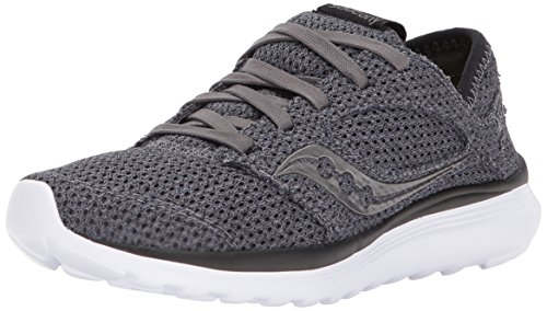 Saucony Women's Kineta Relay Dark Trainers Grey in Size 37