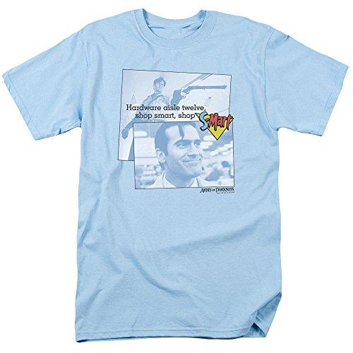 Trevco Men's Army Short Sleeve T-Shirt, Light Blue, X-Large