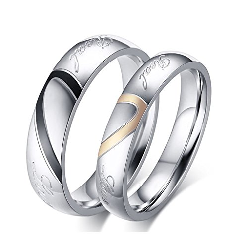 men and women wedding ring sets - 1