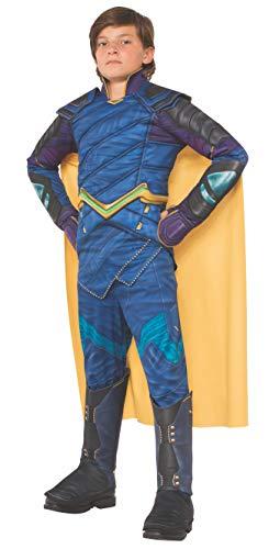 Kids Deluxe Thor Costumes - Rubie's Thor: Ragnarok Child's Deluxe Loki Costume,
