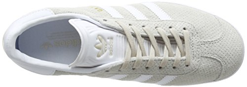 Brown Clear White Baskets adidas Metallic Gazelle Footwear Femme Basses Marron Gold nRnTOqYw