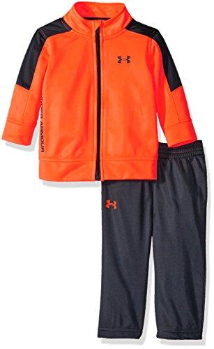 - Under Armour Baby' Zip Jacket and Pant Set, Blaze Orange, 18M