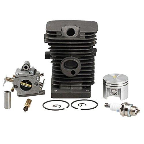 D DOLITY Cilindro Del Carburador 38mm Duradero Flexible Ajustable Cómodo de Usar Llevar Compacto