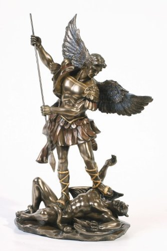 afcb115f197 Sale - Archangel St Saint Michael Statue Sculpture Magnificent by Pacific  Giftware