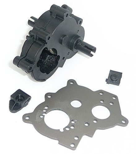 HPI Savage XS Flux Mini TRANSMISSION & MOTOR MOUNT PLATE Drive Gears Diff SS Savage Motor Plate