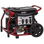 Powermate PC0146500 6500W Electric Start Portable Generator