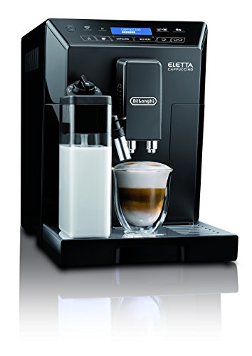 DeLonghi ECAM44660B Eletta Cappuccino IFD Touch Fully Automatic Italian Espresso Machine Coffee Maker, Black