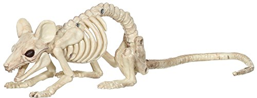 Price comparison product image Mouse Crawling Skeleton Halloween Decoration