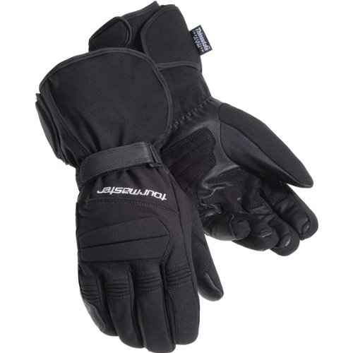 Tour Master Synergy 2.0 Electrically Heated Men's Textile Street Racing Motorcycle Gloves - Black / 4X-Large