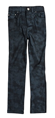 Crystal Pocket Stretch Jeans ((36308) ChillPop Stretch 5 Pocket Jean with Crystal Accents in Indigo Weave, 5)