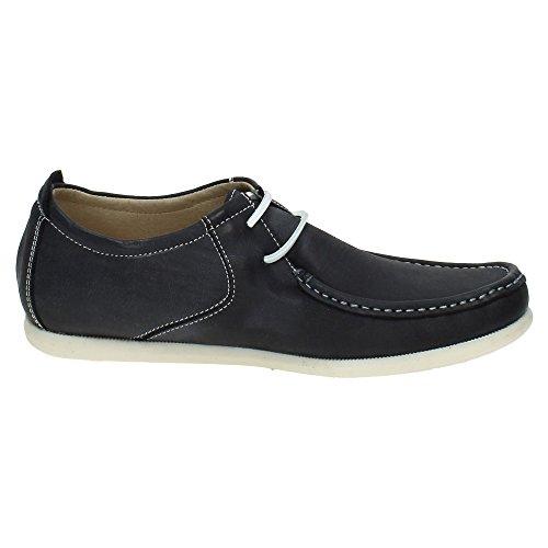 Marine Chaussures ville RIVERTY à de homme Bleu pour lacets 1qZ4OT