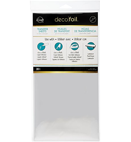 Therm O Web Deco Foil (Pack of 20), Silver