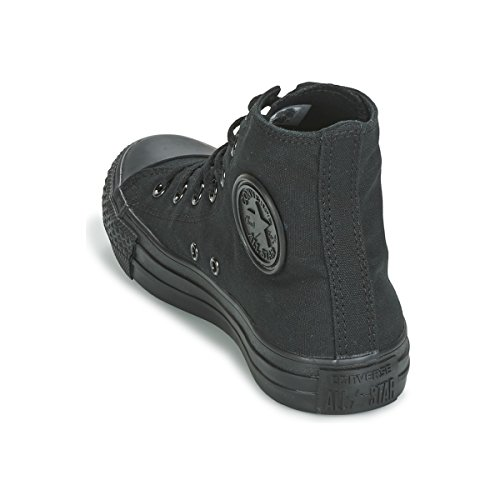 Converse Ctas Core Hi, Sneaker Unisex – Adulto Black Mono