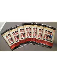 1D One Direction Lot of 7 Factory Sealed Packs - Each Pack Contains 9 Cards and 1 Sticker