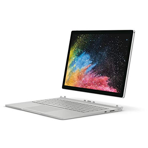 - Microsoft PGU-00001 New Surface Book 2 (Intel Core i5 8th Gen, 8GB RAM, 256GB SSD), 13.5