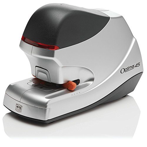 Swingline Electric Stapler, Optima 45, 45 Sheet Capacity, Jam Free, Silver (48209)