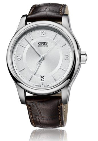 Oris Classic Date Mens Watch 733 7578 4031 LS
