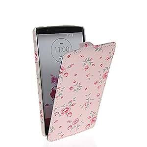 HYFCASE® Flower Modelo Funda de cuero Carcasa Tapa Case Cover Para LG G3