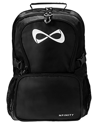 Logo White Black And (Black Classic Backpack - White Logo)
