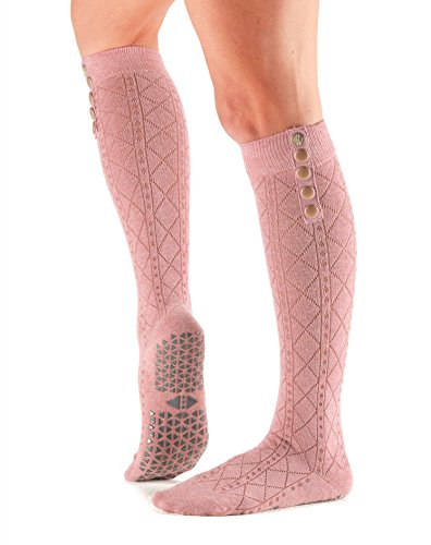 Tavi Noir Stella Knee High Grip Socks (Tavi Blush) Small