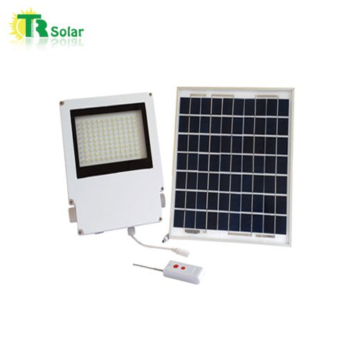 10w Led Solar Powered Flood Light Hight Quality Saving Energy Outdoor Lighting Control Solar Energy System Apply to Garden Wall Yard Outdoor Using