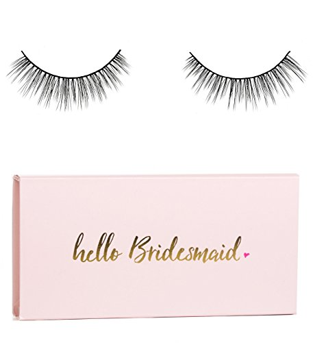 Icona Lashes Premium Quality False Eyelashes | Fairy Tale | Natural Look & Feel | Reusable | Handmade | Cruelty Free (Bridesmaid Packaging) (Best Halloween Stores Nyc)