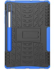 Samsung Galaxy Tab S6 Case, Galaxy Tab S6 Hybrid Case, Dual Layer Protection Shockproof Cover Hybrid Rugged Case with Kickstand For Samsung Galaxy Tab S6 SM-T860/T865