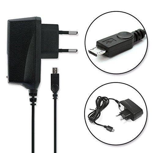 subtel Caricabatteria per Caterpillar B10 B100 B15 B15Q B25 B30 S40 S50 1,2m 5V 1A 1000mAh micro-USB Cavo di ricarica Alimentatore