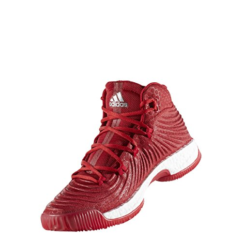 adidas Crazy Explosive 2017 Schuh Herren Basketball Power Rot-Silber Metallic-Weiß