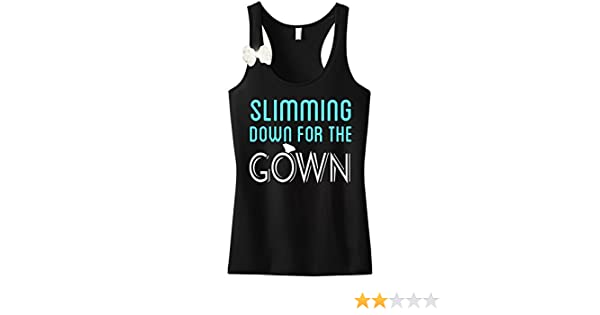 Amazoncom Nobull Woman Apparel Slimming Down The Gown Black Tank