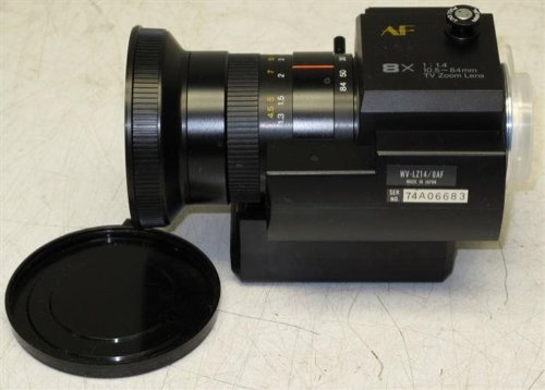 Panasonic WV-LZ14/8AF 8X Zoom TV Lenses, Extra Lenses & Accessories
