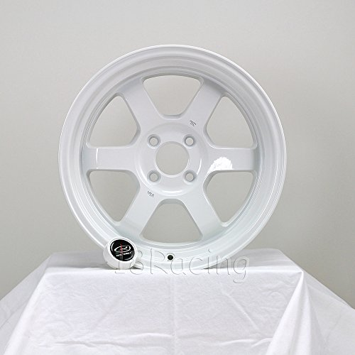 4 PCS ROTA GRID V 15X7 PCD:4X100 OFFSET:20 HB67.1 WHITE - Rota Wheel