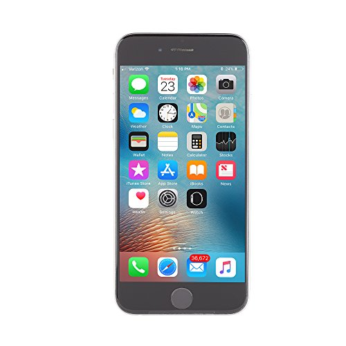 Apple iPhone 6, Fully Unlocked, 16GB - Space Gray (Certified Refurbished)