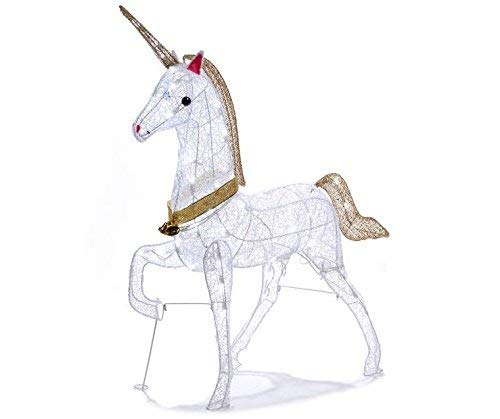 Holiday Airblaster Unicorn Christmas Decorations Outdoor Tin