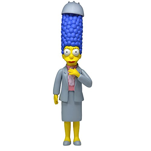"""NECA Simpsons 25th Anniversary Series 4 Marge Simpson (Working Woman Marge) 5"""" Core Action Figure"""