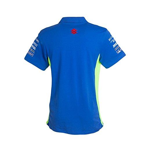 Polo Oficial Team Suzuki Ecstar: Amazon.es: Deportes y aire libre