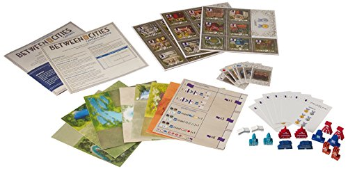 Stonemaier Games Between Two Cities: Capitals Strategy Board Game